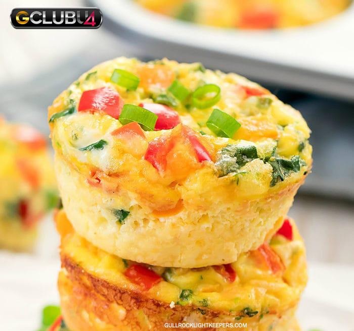 มัฟฟินไข่เจียว อาหารเช้าทำง่าย