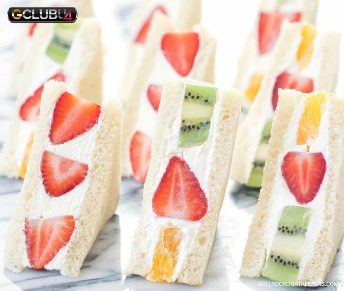 แซนด์วิชผลไม้ญี่ปุ่น